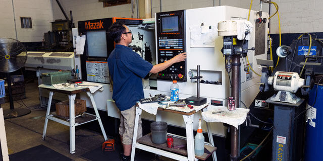 Parker Precision Lake County CNC Machining Services