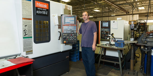 Parker Precision State of the Art Machining